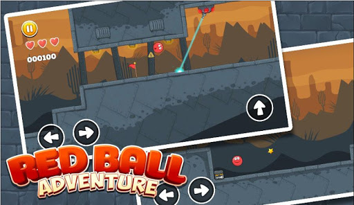 New Red Ball Adventure - Ball Bounce Game for PC