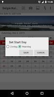 Screenshot of België Kalender 2015