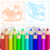 Colorfeel: Christmas Coloring Book