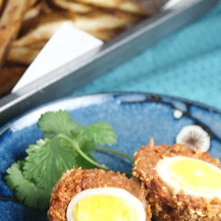 Baked Chorizo Scotch Eggs