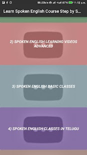 Learn Spoken English Course Step by Step VIDEO App - náhled