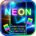 Flash Neon Color Keyboard Theme icon