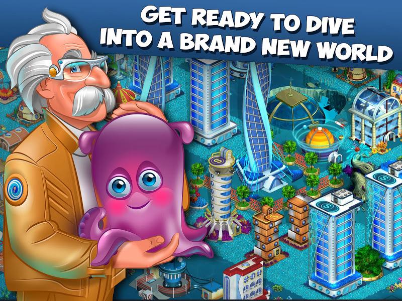 Aquapolis. Free city building! Screenshot 8