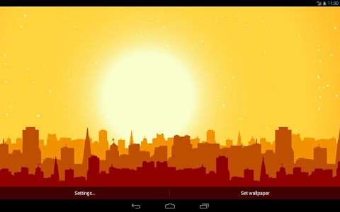 Panorama City Live Wallpaper v1.0