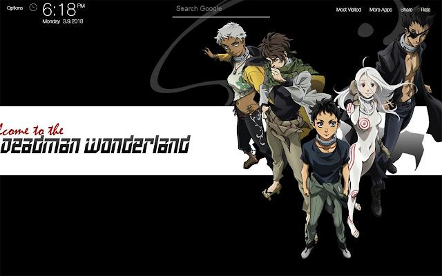 Deadman Wonderland Wallpapers FullHD New Tab
