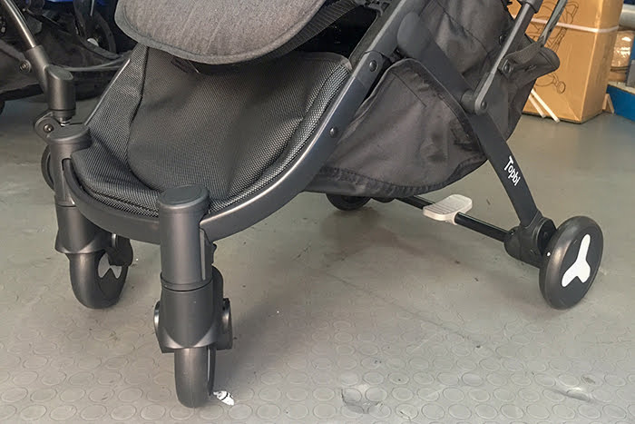 Xe đẩy Topbi S600 có tay kéo vali 21