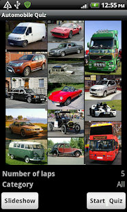 Auto Quiz - The world of cars - náhled