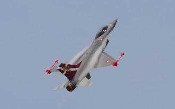 Photo: Duński F-16 - w okolicznościowym malowaniu z okazji 60-lecia Duńskich Sił Powietrznych