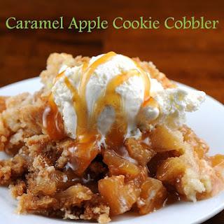 Caramel Apple Cookie Cobbler.