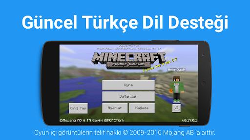 ?? Türkçe Dil: Minecraft PE 2.3 screenshots 4