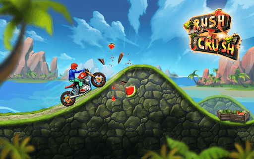 Rush To Crush New Bike Games screenshot 1