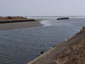 Photo: 木戸川河口。