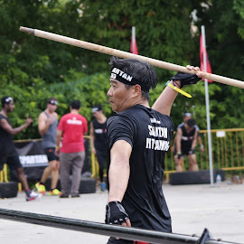 Throwing stick by Koh Chip Whye - Sports & Fitness Other Sports