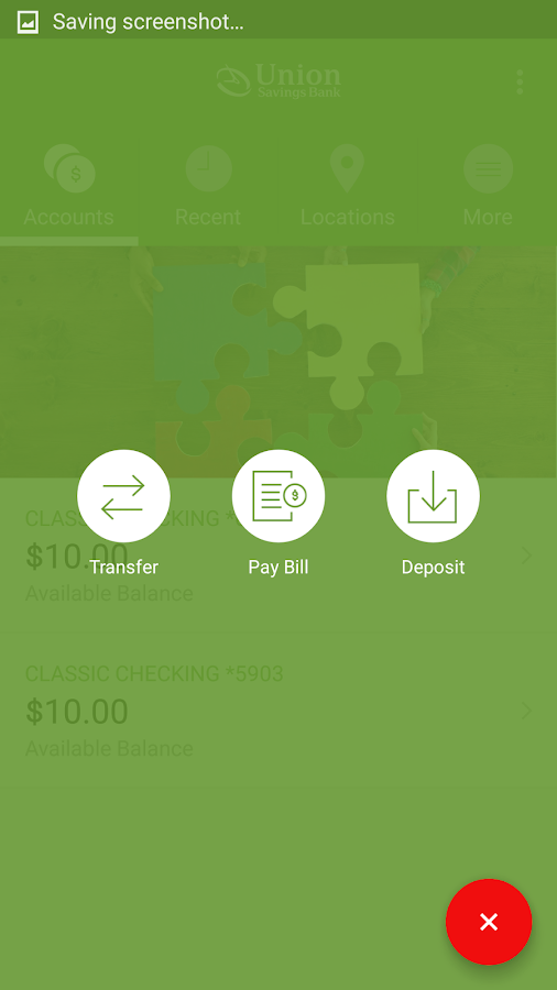 Union Savings Bank Mobile- screenshot