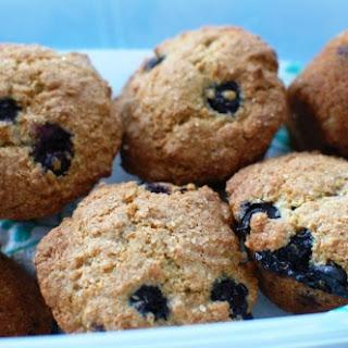 Wholemeal Blueberry & Lemon Muffins.