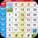 Calendar 2016 Malaysia Lunar icon