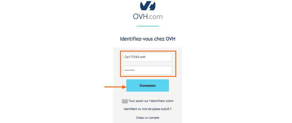 redirection de nom de domaine OVH comment faire