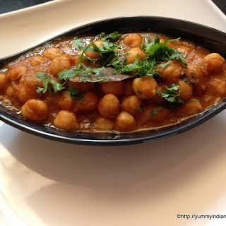 Punjabi Chole Recipe, Chana Masala.