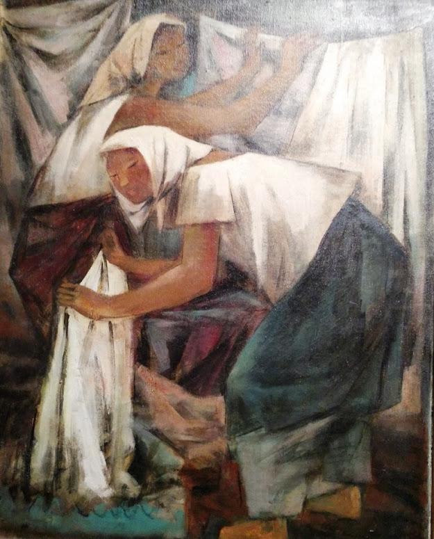 'LAVANDERAS' ANOTHER ART WORK OF ANITA MAGSAYSAY-HO