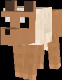 Tamed Eevee Wolf