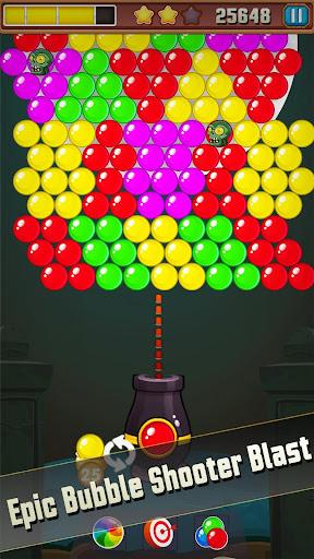 Bubble Shooter Puzzle: Bubble Zombie Match 3 1.0 screenshots 1