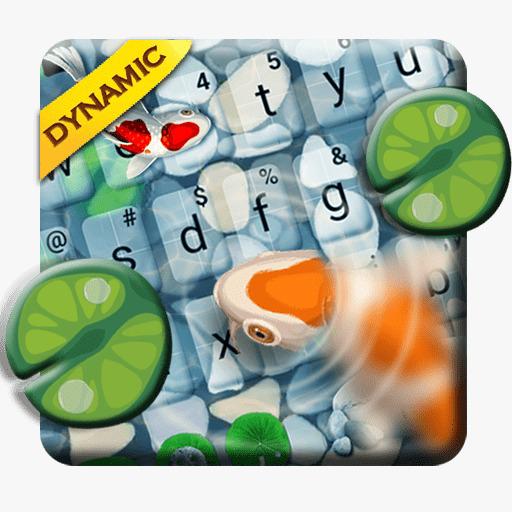Lucky Koi Fish Keyboard Theme Icon