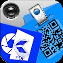 Easy QR + PDF Scanner Pro icon