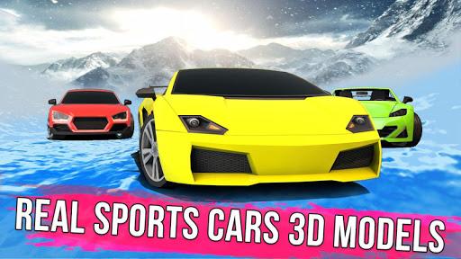 Frozen Water Slide Car Race 1.6 screenshots 7