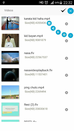 Video Player 2.22 screenshots 2