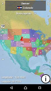 MapMaster - Geography game - screenshot thumbnail