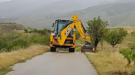 Campaña de desbroce y limpieza de caminos tras las intensas lluvias primaverales