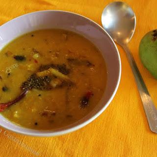 Aam Dal (sweet n sour mango lentil curry)