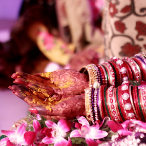 Wedding ceremony by Anurag Bhateja - Wedding Ceremony ( hindu, kanyadaan, haldi, wedding, indian, bride )