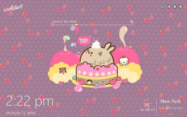 KAWAII HD Wallpapers Cuteness New Tab Theme