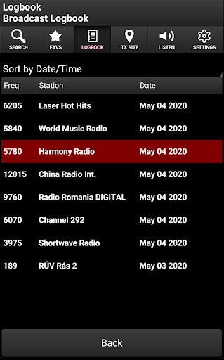 Skywave Schedules screenshot 6