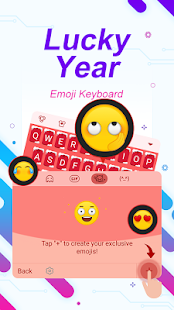 Lucky Year Theme&Emoji Keyboard - náhled