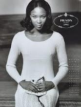Photo: Naomi Campbell para Prada