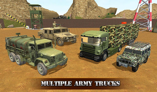 US OffRoad Army Truck driver 2020 screenshots 12