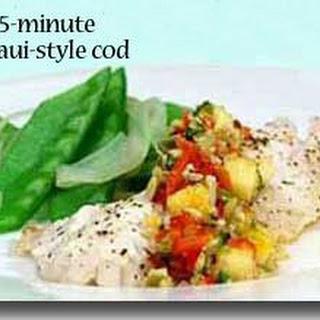15-Minute Maui-Style Cod.