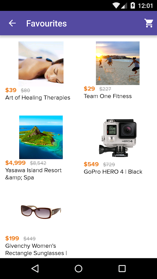 LivingSocial - AU & NZ Deals- screenshot