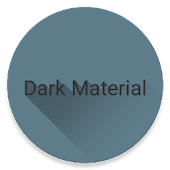 Dark Material theme for LG V20