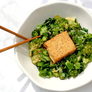 Green Curry with Tofu.