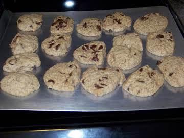 Oatmeal/Dark Chocolate/Flax Meal Cookie