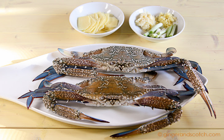 ... crab ginger and scallion crab with ginger and scallion sauce recipes