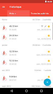 Runtastic Road Bike - vélo de route - cyclisme Capture d'écran