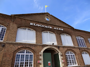 Photo: Elgood's Brewery in Wisbech, Cambridgeshire UK is a well-run, historic facility.