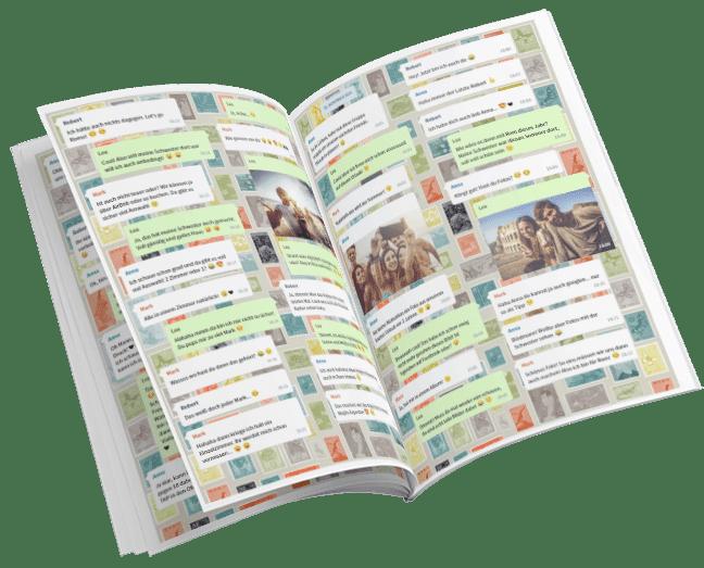 WhatsApp: come stampare le chat per creare un libro ricordo