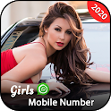 Girls Mobile Number Prank – Girls Live Video Call icon