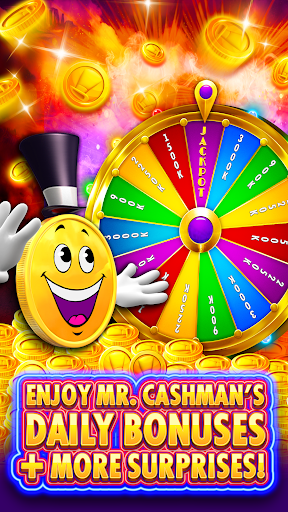 Cashman Casino - Free Slots Machines & Vegas Games screenshot