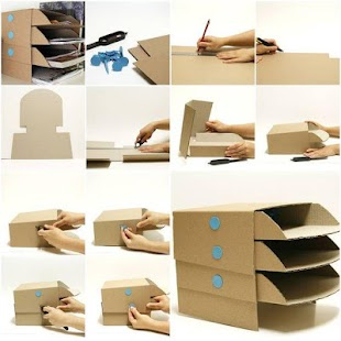 DIY Cardboard Crafts - náhled